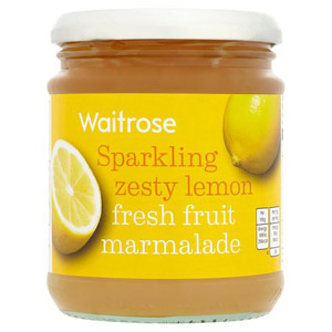 Waitrose Marmalade Fresh Fruit Lemon