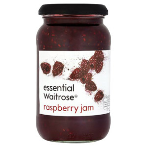 essential Waitrose Raspberry Jam