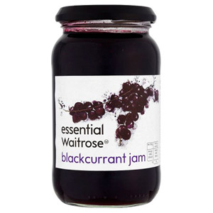 essential Waitrose Blackcurrant Jam
