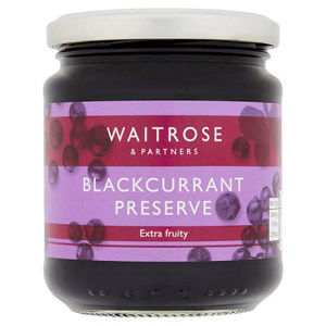 Waitrose Preserve Blackcurrant