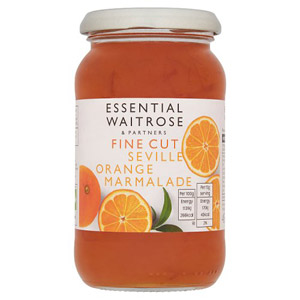 essential Waitrose Marmalade Seville Orange Fine Cut