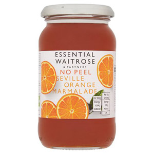 essential Waitrose Marmalade Seville Orange No Peel