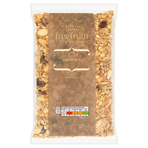 Waitrose LOVE life Free From Granola Almond & Sultanas