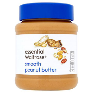 essential Waitrose Smooth Peanut Butter