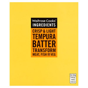 Waitrose Cooks Ingredients Tempura Batter Mix