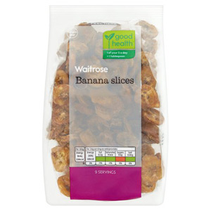 Waitrose LOVE life Banana Slices