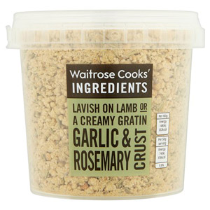 Waitrose Cooks Ingredients Crust Garlic and Rosemary