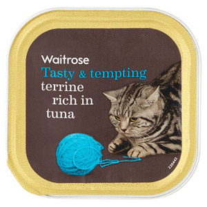 Waitrose Cat Food Terrine Tuna