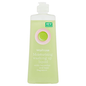 Waitrose Washing Up Liquid Cucumber & Basil