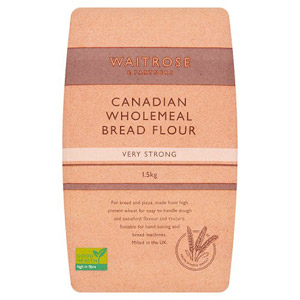 Waitrose Canadian Strong Wholemeal Flour