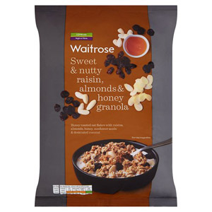 Waitrose Raisin Almond & Honey Granola