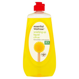 essential Waitrose Washing Up Liquid Citrus