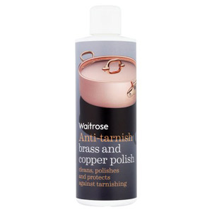 Waitrose Anti Tarnish Brass Copper Polish