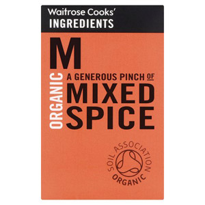 Waitrose Cooks Ingredients Organic Mixed Spice
