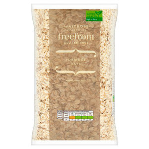 Waitrose LOVE life Free From Porridge Oats