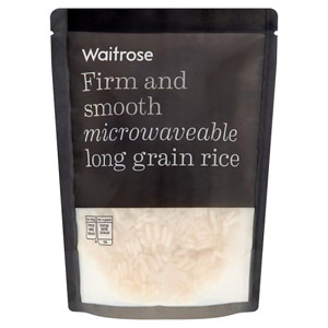 Waitrose Microwaveable Rice Long Grain