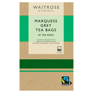 Waitrose Marquess Grey 50 Tea Bags