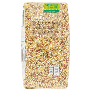Waitrose LOVE life Red & White Quinoa with Bulgarwheat