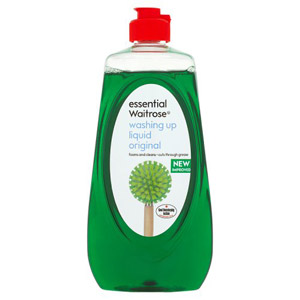 essential Waitrose Washing Up Liquid Original