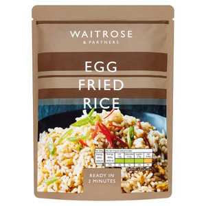 Waitrose & Partners Egg Fried Rice