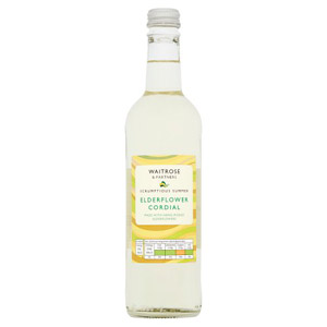 Waitrose Elderflower Cordial