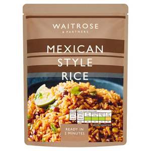 Waitrose & Partners Mexican Style Rice