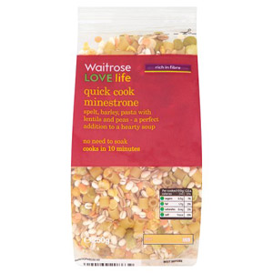 Waitrose LOVE life Quick Cook Minestrone