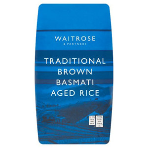 Waitrose LOVE life Brown Basmati Rice