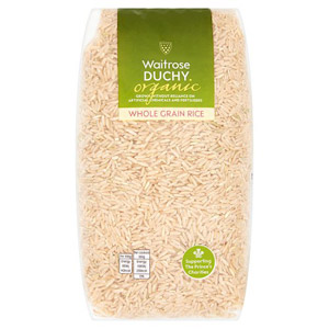 Waitrose Duchy Organic Whole Grain Rice Large