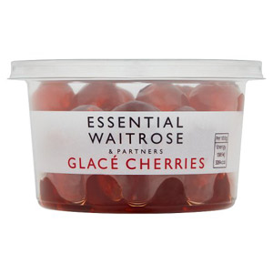 essential Waitrose Glace Cherries