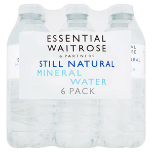 essential Waitrose Natural Mineral Water Still 6 Pack