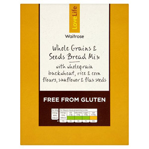 Waitrose LOVE life Free From Seeds Bread Mix