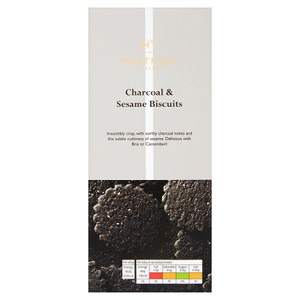 Waitrose & Partners No.1 Charcoal & Sesame Flatbread