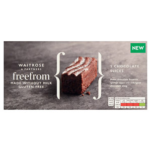 Waitrose 5 Free From Chocolate Slices