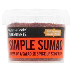 Waitrose Cooks Ingredients Organic Simple Sumac