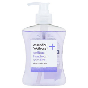 essential Waitrose Sensitive Antibacterial Hand Wash