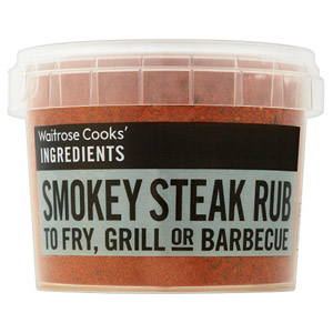 Waitrose Cooks Ingredients Organic Smokey Steak Rub