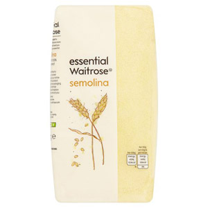Waitrose Wholesome 133 Semolina