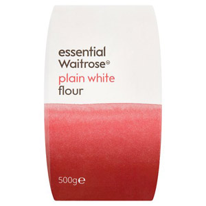 essential Waitrose Plain White Flour Small