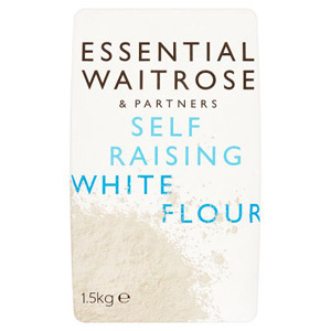 essential Waitrose Self Raising White Flour 1500g