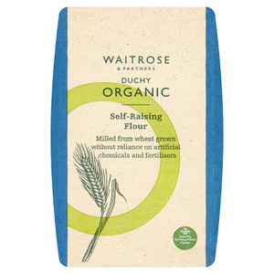 Waitrose Duchy Organic White Self Raising Flour
