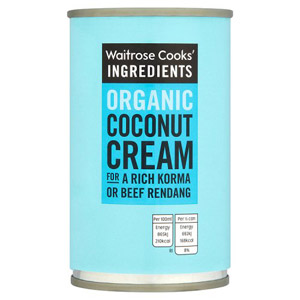Waitrose Cooks Ingredients Organic Coconut Cream