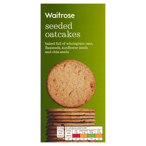 Waitrose LOVE life Seeded Oatcakes