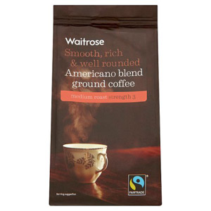 Waitrose Ground Coffee Fairtrade Americano Blend