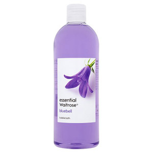 essential Waitrose Bubble Bath Bluebell