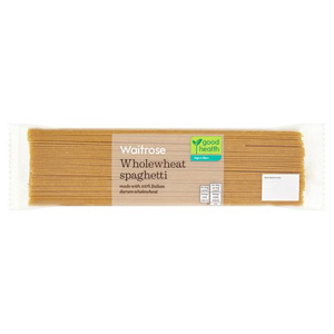 Waitrose LOVE life Wholewheat Spaghetti