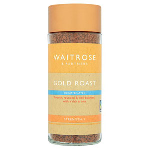 Waitrose Freeze Dried Coffee Decaffeinated