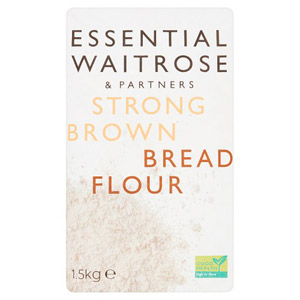 essential Waitrose Strong Brown Bread Flour 1500g