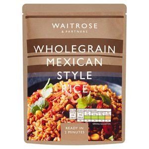 Waitrose & Partners Wholegrain Mexican Style Rice