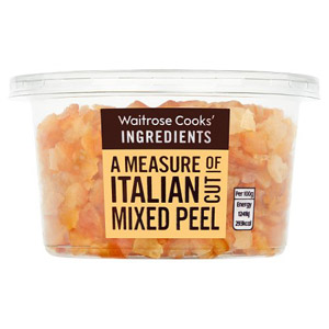 Waitrose Mixed Peel